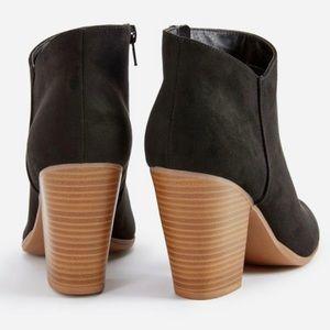 4a23ef61bed JustFab Shoes - Western Wilde Block Heel Bootie